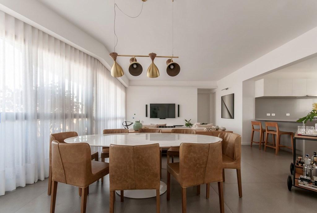 ambientes integrados com estetica minimalista e com tons claros casa.com estudio marion xavier 1 Vision Art NEWS