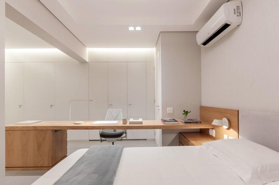 ambientes integrados com estetica minimalista e com tons claros casa.com estudio marion xavier 10 Vision Art NEWS