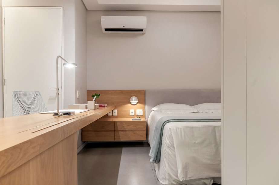 ambientes integrados com estetica minimalista e com tons claros casa.com estudio marion xavier 11 Vision Art NEWS