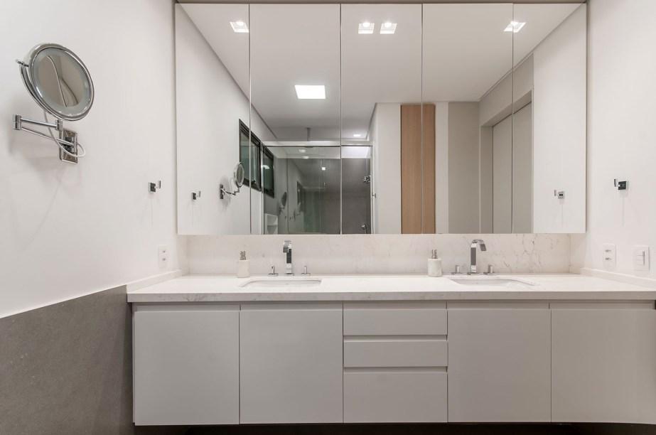 ambientes integrados com estetica minimalista e com tons claros casa.com estudio marion xavier 15 Vision Art NEWS