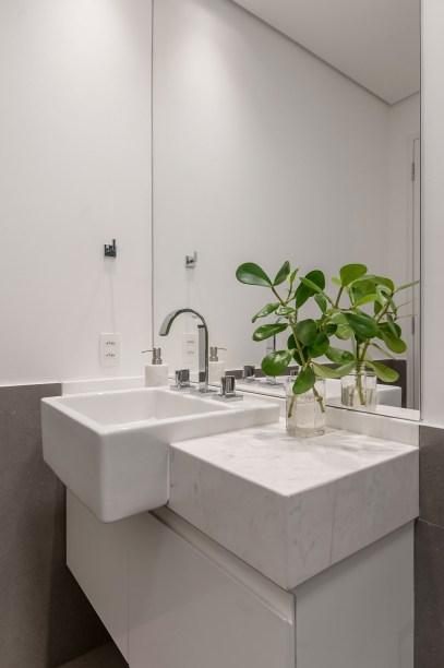 ambientes integrados com estetica minimalista e com tons claros casa.com estudio marion xavier 16 Vision Art NEWS