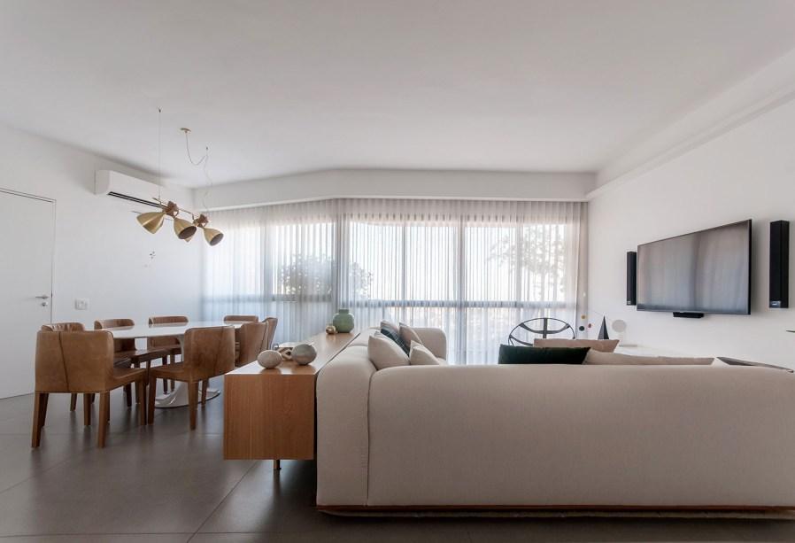 ambientes integrados com estetica minimalista e com tons claros casa.com estudio marion xavier 2 Vision Art NEWS