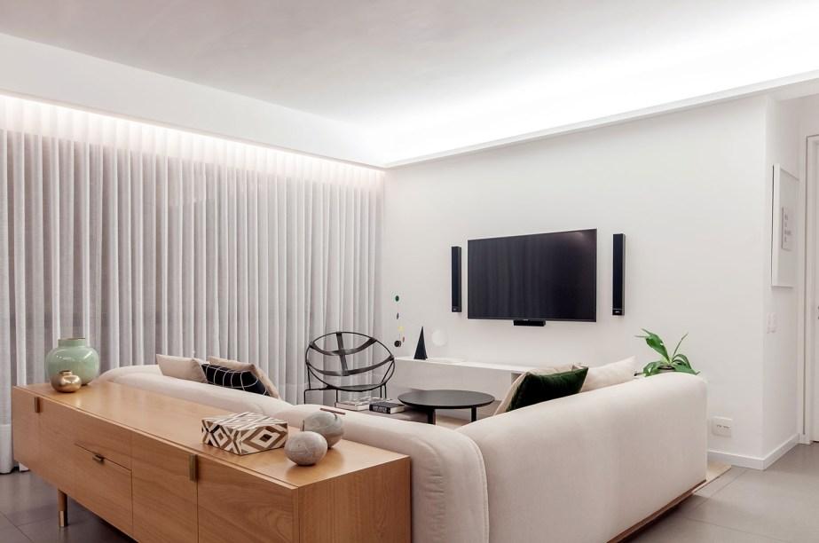 ambientes integrados com estetica minimalista e com tons claros casa.com estudio marion xavier 20 Vision Art NEWS