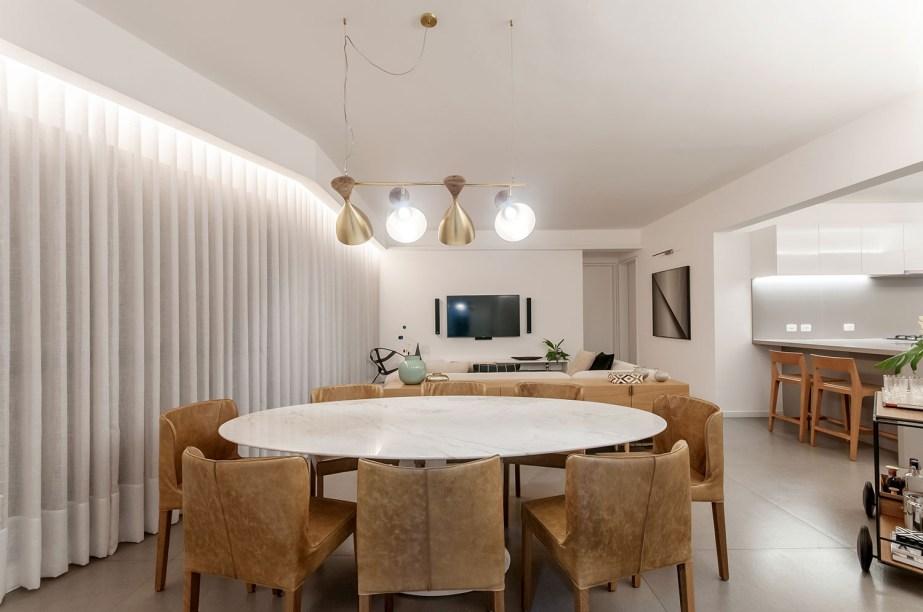 ambientes integrados com estetica minimalista e com tons claros casa.com estudio marion xavier 21 Vision Art NEWS
