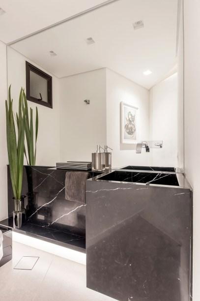 ambientes integrados com estetica minimalista e com tons claros casa.com estudio marion xavier 24 Vision Art NEWS