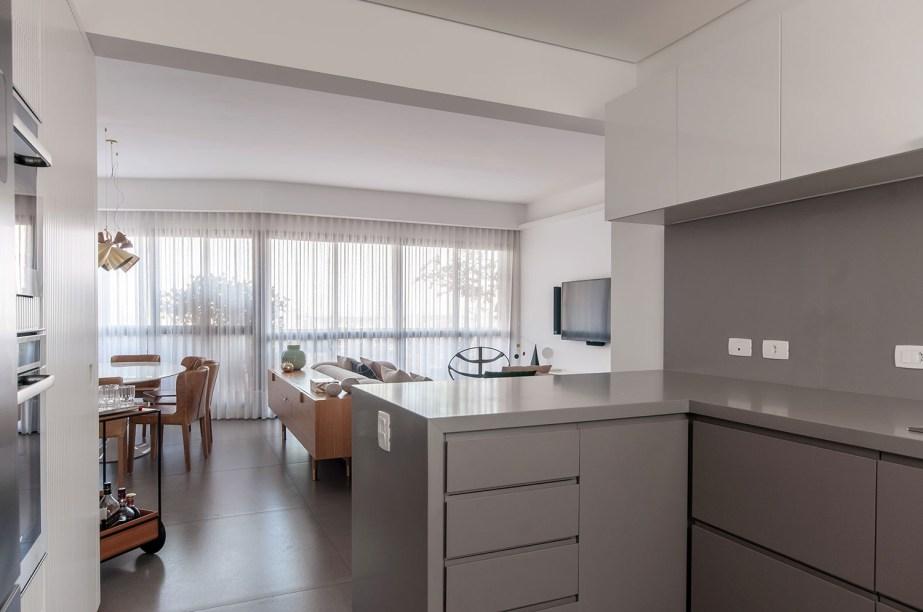 ambientes integrados com estetica minimalista e com tons claros casa.com estudio marion xavier 4 Vision Art NEWS
