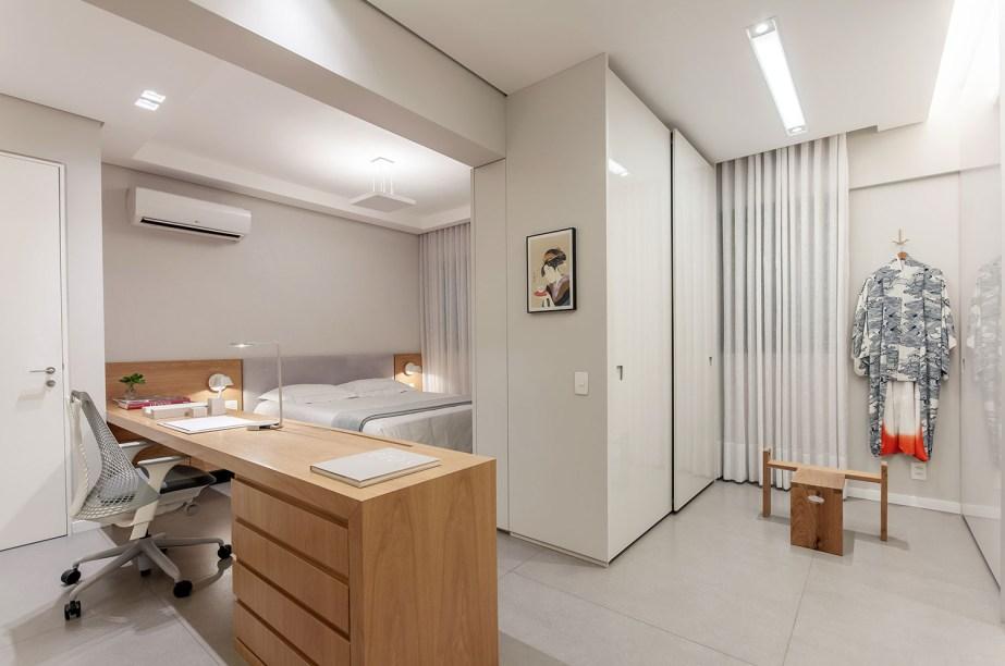 ambientes integrados com estetica minimalista e com tons claros casa.com estudio marion xavier 8 Vision Art NEWS