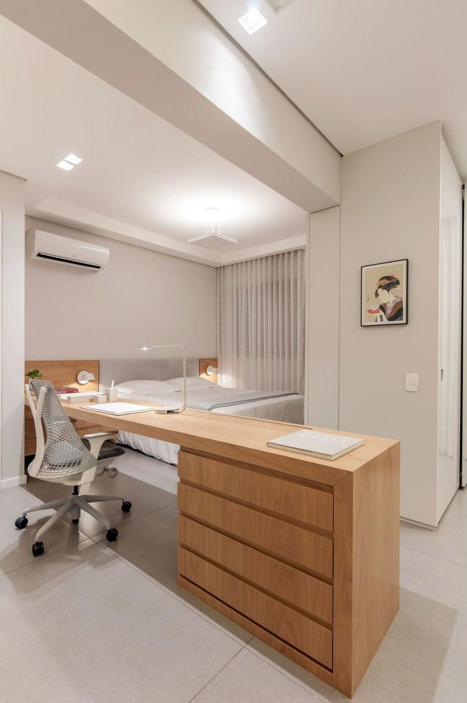 ambientes integrados com estetica minimalista e com tons claros casa.com estudio marion xavier 9 Vision Art NEWS