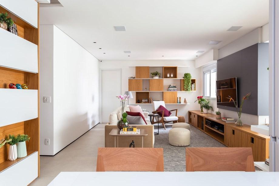 solucoes de marcenaria e minimalismo marcam a reforma do apto de 150m² casa.com studio tan gram estudio sao paulo 15 Vision Art NEWS