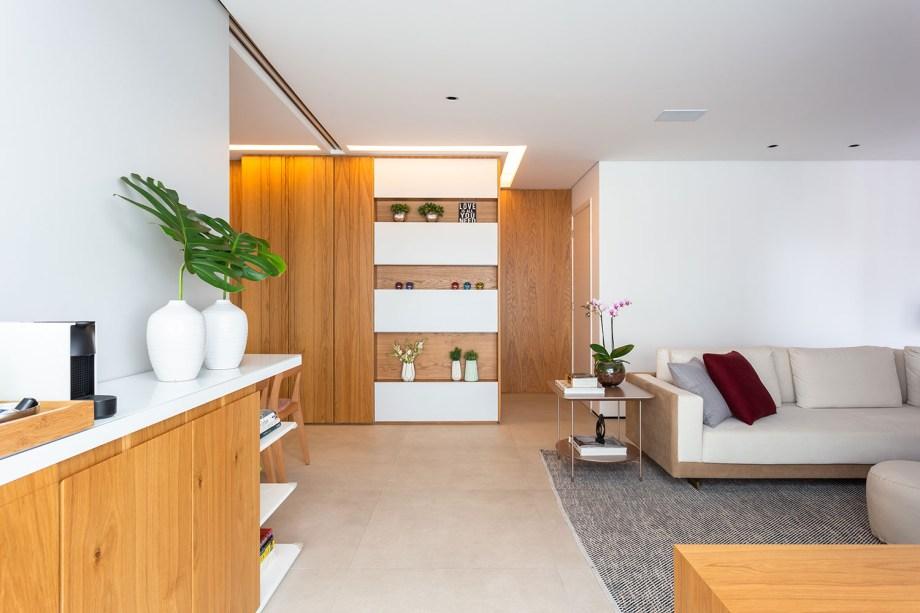 solucoes de marcenaria e minimalismo marcam a reforma do apto de 150m² casa.com studio tan gram estudio sao paulo 3 Vision Art NEWS