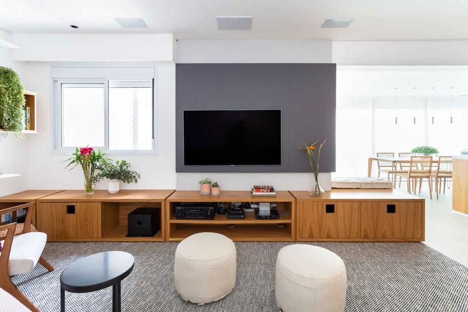 solucoes de marcenaria e minimalismo marcam a reforma do apto de 150m² casa.com studio tan gram estudio sao paulo 4 Vision Art NEWS