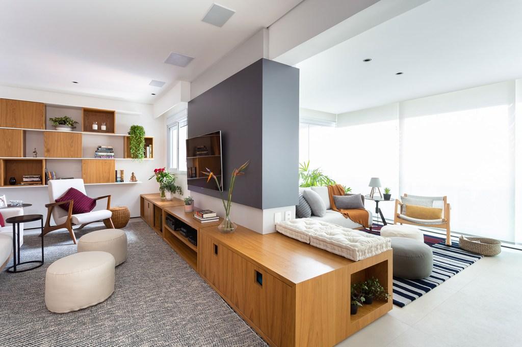 solucoes de marcenaria e minimalismo marcam a reforma do apto de 150m² casa.com studio tan gram estudio sao paulo 5 Vision Art NEWS