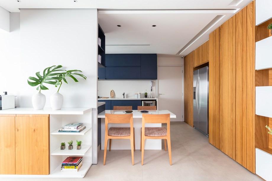solucoes de marcenaria e minimalismo marcam a reforma do apto de 150m² casa.com studio tan gram estudio sao paulo 7 Vision Art NEWS