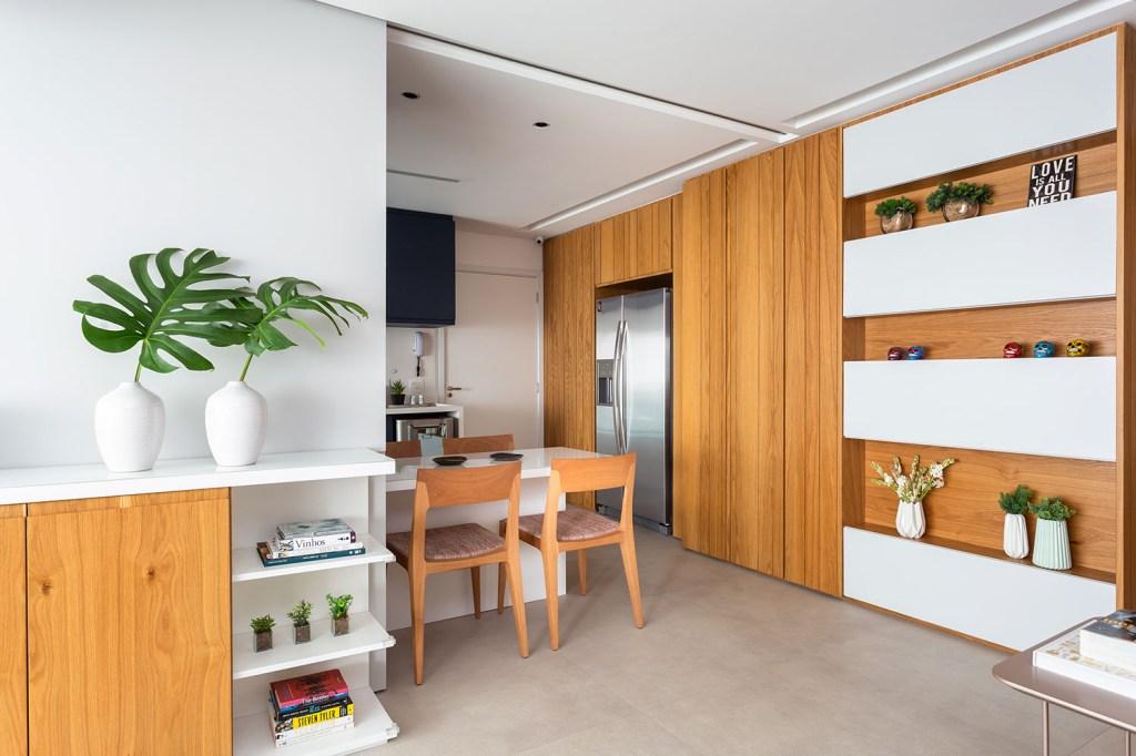 solucoes de marcenaria e minimalismo marcam a reforma do apto de 150m² casa.com studio tan gram estudio sao paulo 9 Vision Art NEWS